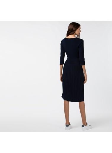 Lacoste Kadın Truvakar Kollu Elbise EF2048.48L Lacivert